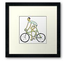 Rodney: bike Framed Print