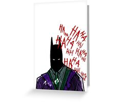 Not Funny Greeting Card