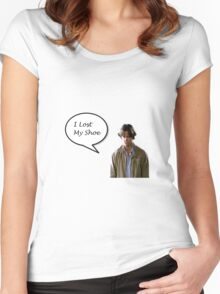 Sam Winchester's Lost Shoe Women's Fitted Scoop T-Shirt