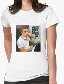 Joe Sugg Little Pink Hearts Womens Fitted T-Shirt