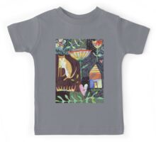 Cat House Heart Kids Tee
