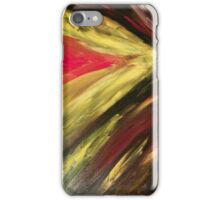 Abstract Fury iPhone Case/Skin