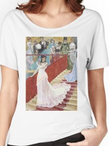F?licien Rops - The Row. Rops - woman portrait. Women's Relaxed Fit T-Shirt