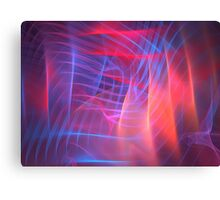 Pink Cube Canvas Print