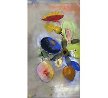 Odilon Redon - Flowers. Odilon Redon - still life with flowers. Photographic Print
