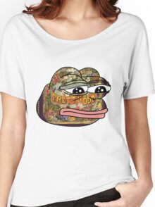 Pepe. Odd. Women's Relaxed Fit T-Shirt