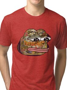 Pepe. Odd. Tri-blend T-Shirt