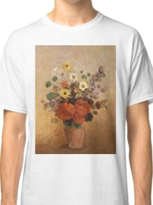 Odilon Redon - Flowers In A Vase. Odilon Redon - still life with flowers. Classic T-Shirt