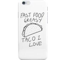 Taco Bell Saga iPhone Case/Skin