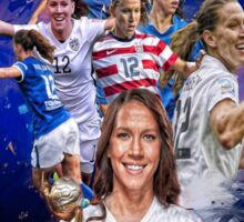 Lauren Holiday From UCLA to Fc Kansas City + National Team Sticker