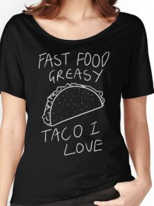 Taco Bell Saga (White) Women's Relaxed Fit T-Shirt