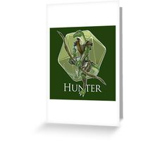Dungeons And Dragons Hunter Greeting Card