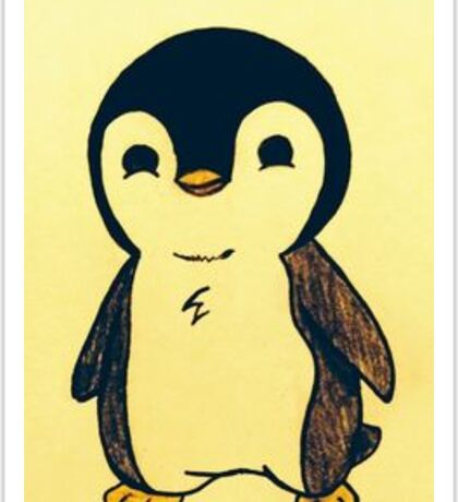 cute penguin Sticker