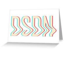 DSDN Color Logo Shirt Greeting Card