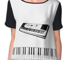 The Art of Digital Piano Chiffon Top