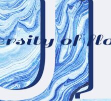 University of Florida Marble Sticker