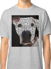 Stone Rock'd Dog 2 by Sharon Cummings Classic T-Shirt