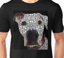 Stone Rock'd Dog 2 by Sharon Cummings Unisex T-Shirt