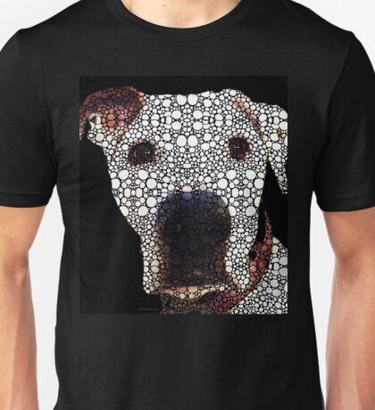Stone Rock'd Dog 2 by Sharon Cummings Unisex T-Shirt