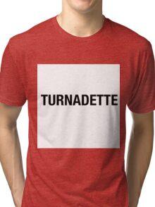 TURNADETTE Tri-blend T-Shirt