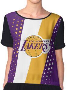 Los Angeles Lakers Chiffon Top