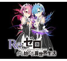 rem and ram Photographic Print