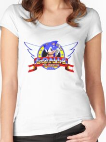 Sonic Women's Fitted Scoop T-Shirt
