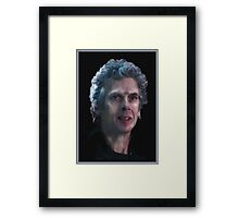 The Twelfth Doctor, Doctor Who Framed Print