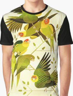 Carolina Parakeet Graphic T-Shirt