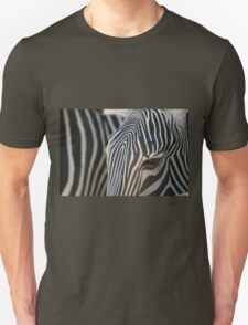 abstract in black white and brown Unisex T-Shirt