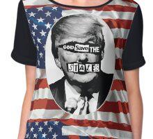 God Save The States (Donald Trump) Chiffon Top