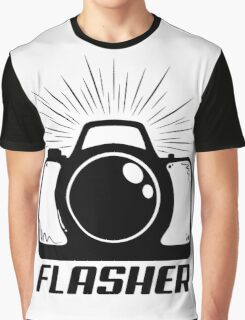 Camera Flasher Graphic T-Shirt
