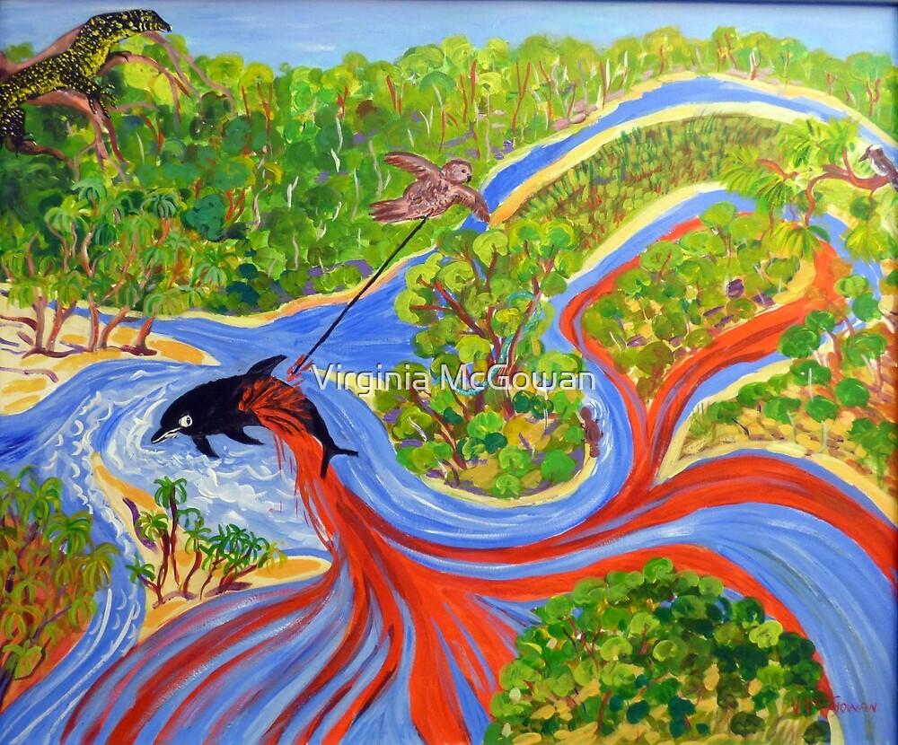 The Genesis [Legend]  of Pimpama Island  by Virginia McGowan