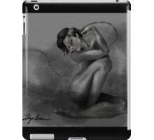 dark figure iPad Case/Skin