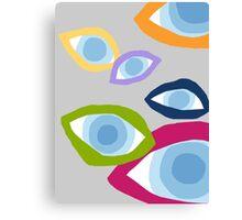 Eyes world Canvas Print