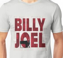 Billy Joel Picture at Font Unisex T-Shirt