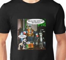 Misbehaving Robots Unisex T-Shirt