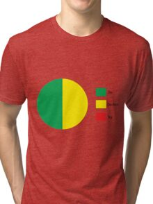 Do Or Do Not, There is No Try Pie Chart Tri-blend T-Shirt
