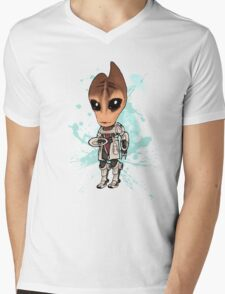 Mordin Chibi Mens V-Neck T-Shirt