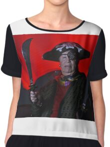ARRRH to be a Pirate Chiffon Top