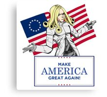 Make America Dojyaaa~~n Again! Canvas Print