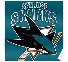San Jose Sharks Poster