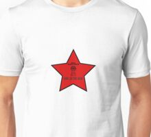 Big Brother Watching Red Star Unisex T-Shirt