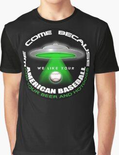 alien baseball Graphic T-Shirt
