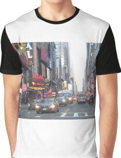 New York City Street Graphic T-Shirt