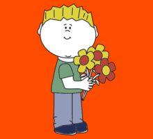 I love flowers Kids Tee
