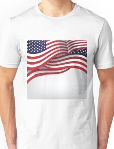American flag illustration Unisex T-Shirt