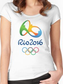 Rio 2016 Olympics Women's Fitted Scoop T-Shirt