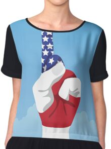 USA is number one Chiffon Top