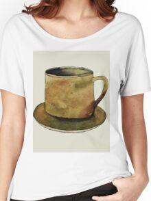 Mug on Plate Women's Relaxed Fit T-Shirt